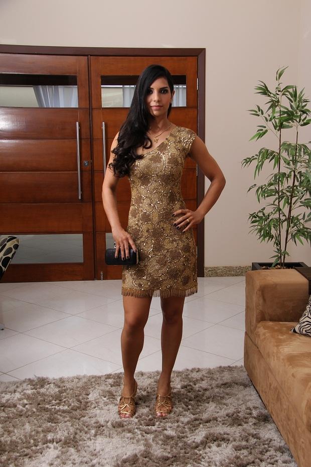 39e5ff5fb Meu Look: Vestido: Patricia Bonaldi (Esse vestido e outros modelos lindos  você encontra na Saint Tropez Concept (33) 3522-6537) Sandália: Miezko  Cabelo: ...